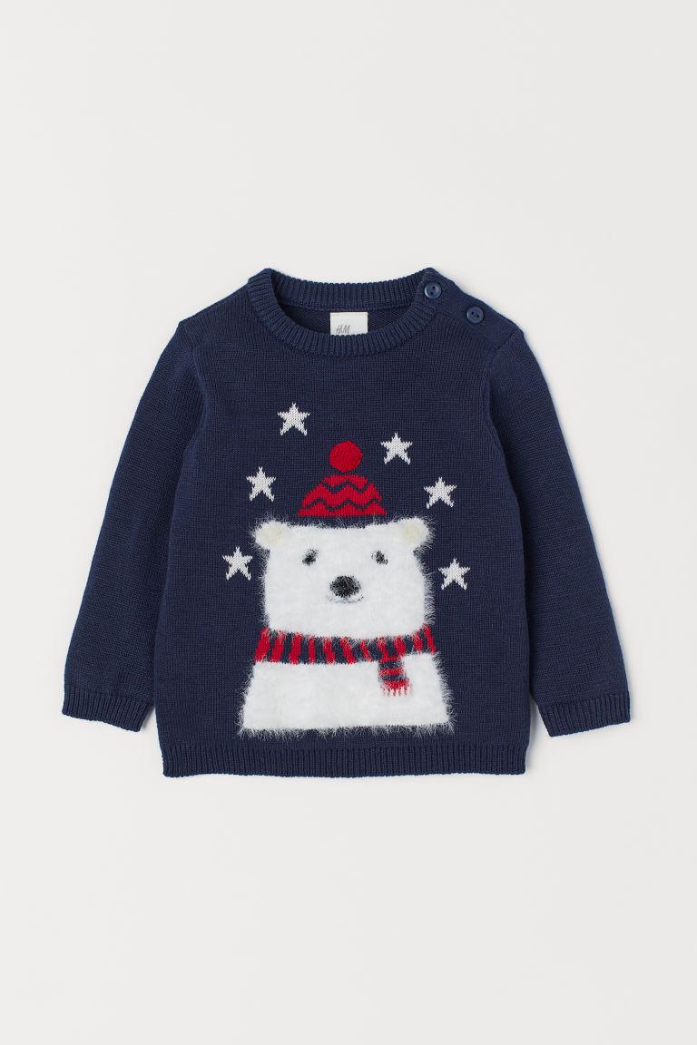 Fine-knit Cotton Sweater
