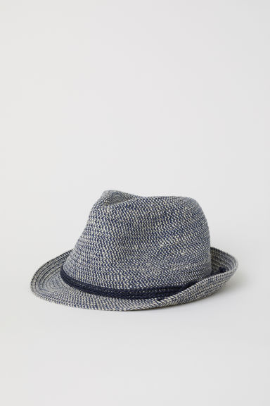 Jute-blend straw hat Model