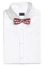 Bow tie and braces - Red/Snowmen - Men | H&M 2