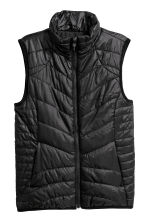 Padded outdoor gilet - Black - Ladies | H&M 2