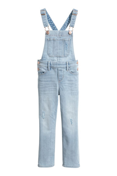 Denim dungarees - Light blue denim -  | H&M CN
