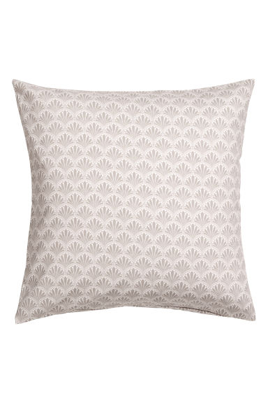 Patterned cushion cover - Light mole/Patterned - Home All | H&M CN