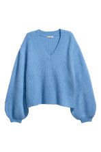 Mohair-blend jumper - Light blue - Ladies | H&M 2