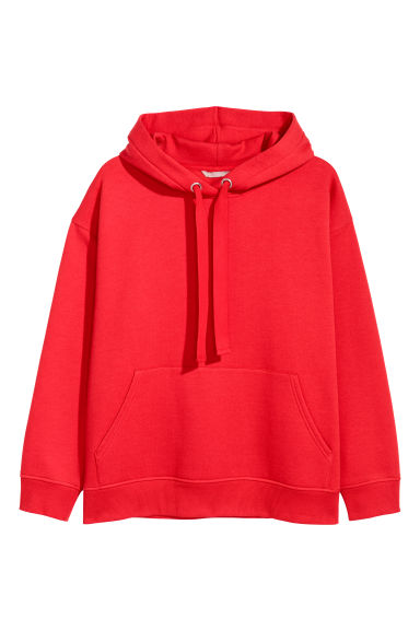 H&M+ Hooded top - Red -  | H&M IE