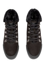 Warm-lined hi-tops - Black - Ladies | H&M CN 1