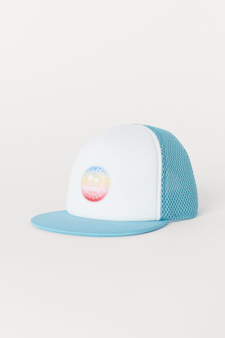Mesh cap - Turquoise/Venice Beach - Kids | H&M GB