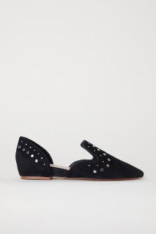 Loafers i ruskind