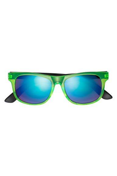 Sunglasses - Neon green/Black - Kids | H&M CN