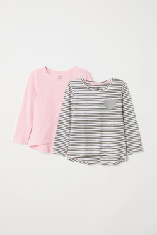 Top in jersey, 2 pz