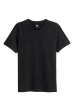 T-shirt - Slim fit - Zwart - HEREN | H&M BE 2