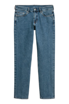 Straight Slim Selvedge Jeans