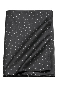 Star-pattern cotton tablecloth