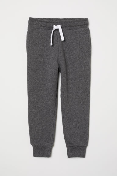 Joggers - Dark grey marl -  | H&M GB