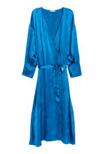 Wrap dress - Bright blue - Ladies | H&M 2