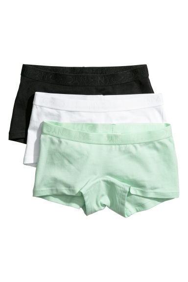 3-pack boxer briefs - Light green - Kids | H&M