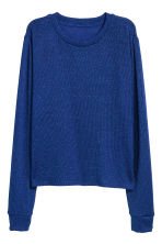 Glittery jumper - Cornflower blue/Glittery - Ladies | H&M IE 2