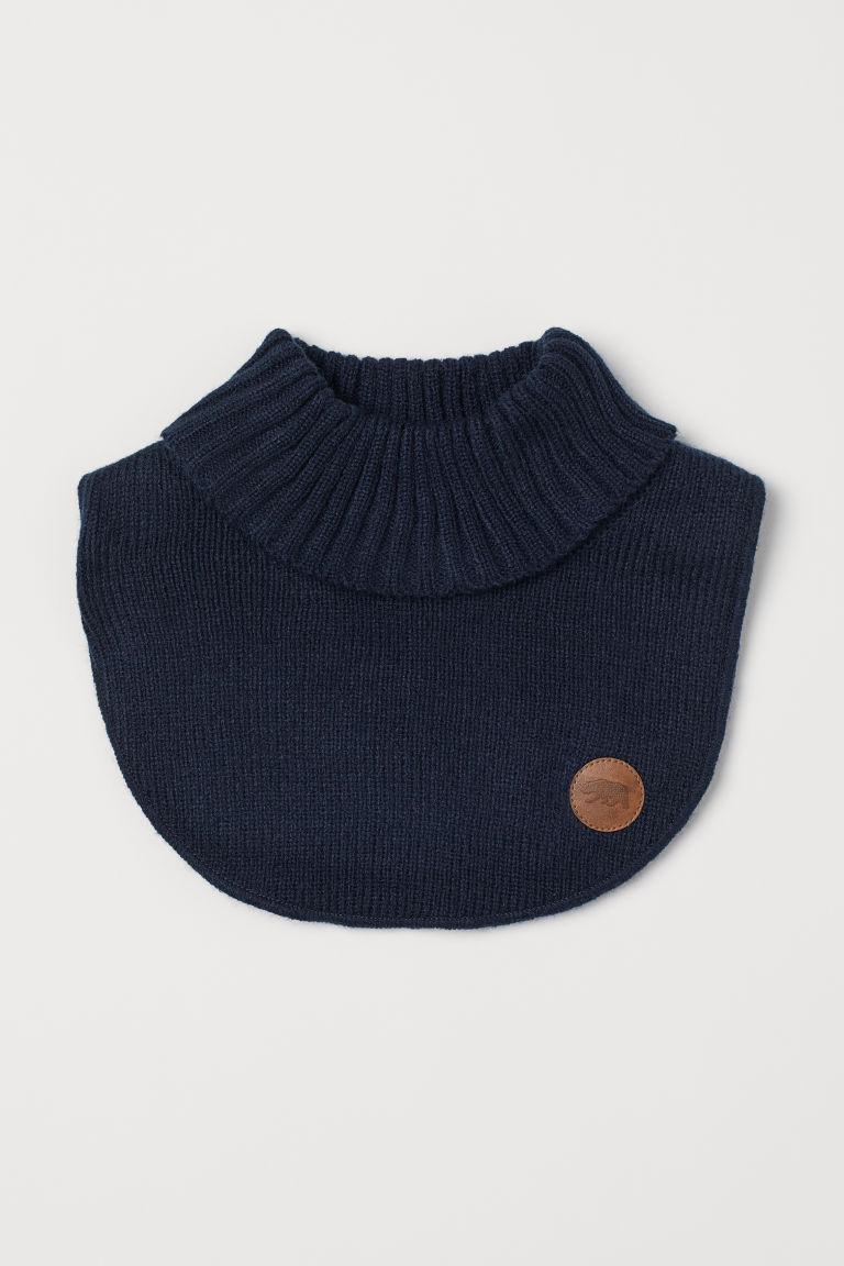 Knit Turtleneck Collar
