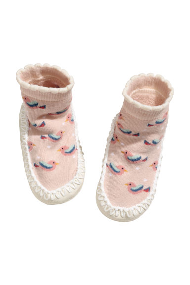 Mocassins - Rose poudré/motif - ENFANT | H&M BE
