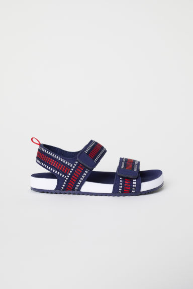 Sandals - Dark blue/Red - Kids | H&M CN