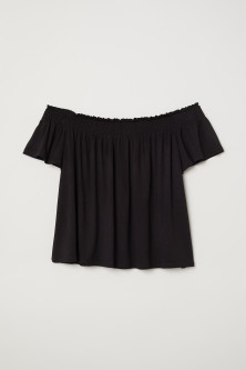 Off shoulder -pusero