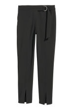 Ankle-length trousers - Black - Ladies | H&M 2