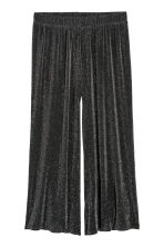 H&M+ Glittery trousers - Black/Glittery - Ladies | H&M IE 2