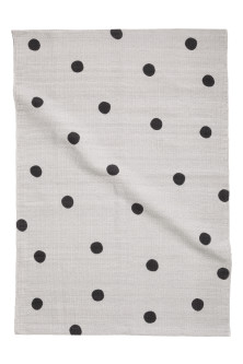 Spotted cotton rug