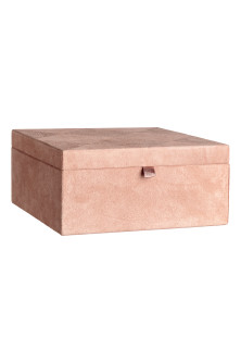 Large suede box