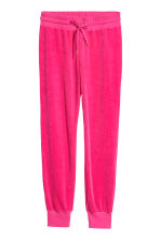 Velour joggers - Cerise - Ladies | H&M 2