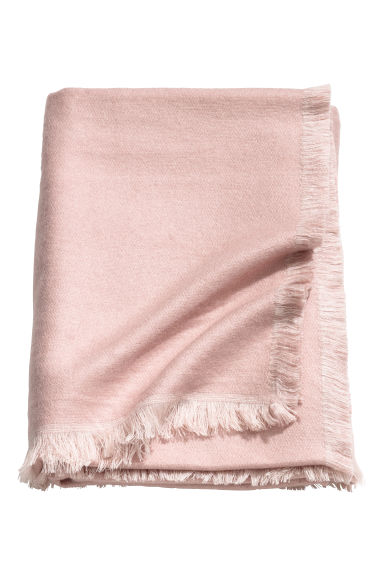 Soft blanket - Dusky pink -  | H&M GB