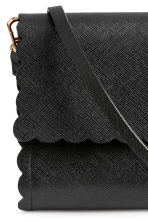 Scallop-edged clutch bag - Black - Ladies | H&M IE 3