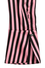 Asymmetric dress - Pink/Black striped - Ladies | H&M 3
