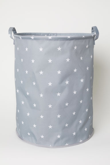 Large storage basket - Grey/Stars - Home All | H&M CN