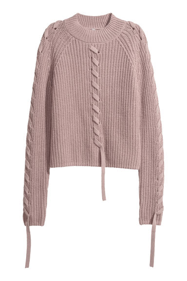 Pullover a lupetto a coste - Erica -  | H&M IT