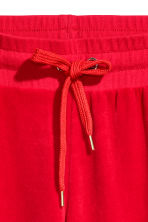 Velours joggers - Rood - DAMES | H&M NL 3