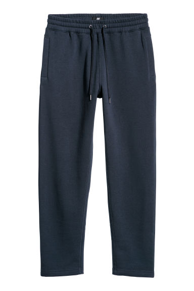 Joggers - Regular fit - Donkerblauw - HEREN | H&M BE
