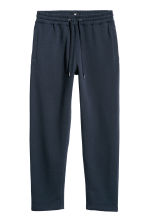 Sweatpants Regular fit - Dark blue - Men | H&M CN 3