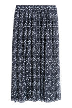 Lace skirt - Dark blue/Stars - Ladies | H&M 2