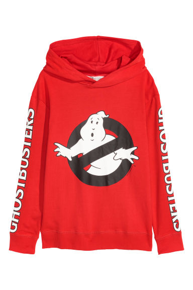 Bedruckter Hoodie - Rot/Ghostbusters - KINDER | H&M CH