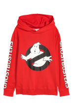 Bedruckter Hoodie - Rot/Ghostbusters -  | H&M CH 2
