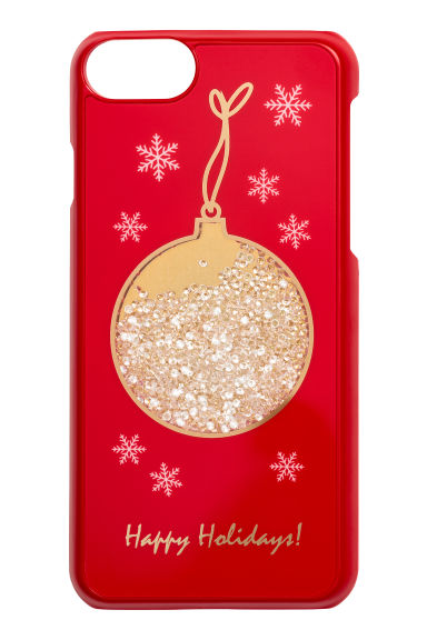 iPhone 6/6s case - Red/Christmas bauble - Ladies | H&M IE 1