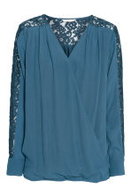 MAMA Blouse d'allaitement - Turquoise - FEMME | H&M BE 2