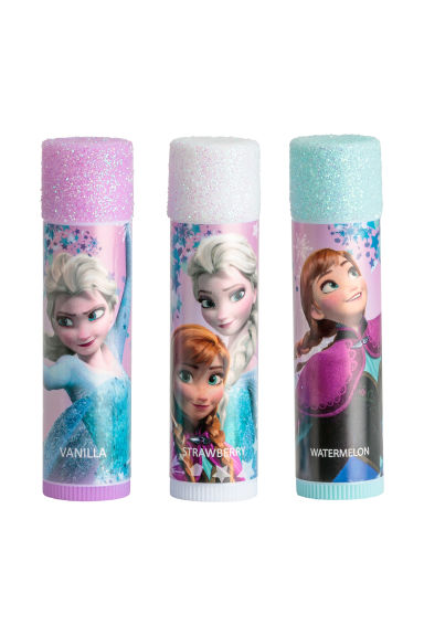 3-pack läppbalsam - Rosa/Frost -  | H&M FI