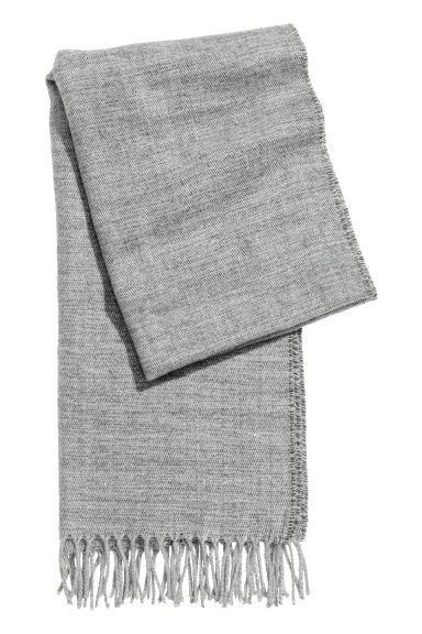 Scarf - Grey marl -  | H&M GB