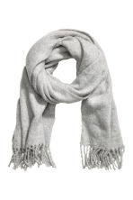 Large scarf - Light grey - Ladies | H&M CN 2