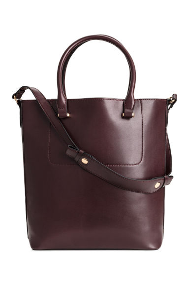 Shopper - Burgundy -  | H&M GB