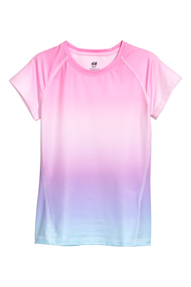 Sports top - Pink/Purple -  | H&M