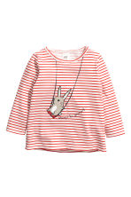 3-pack jersey tops - Bright red/Rabbit - Kids | H&M 2
