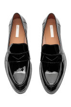 Leather loafers - Black - Ladies | H&M GB 2