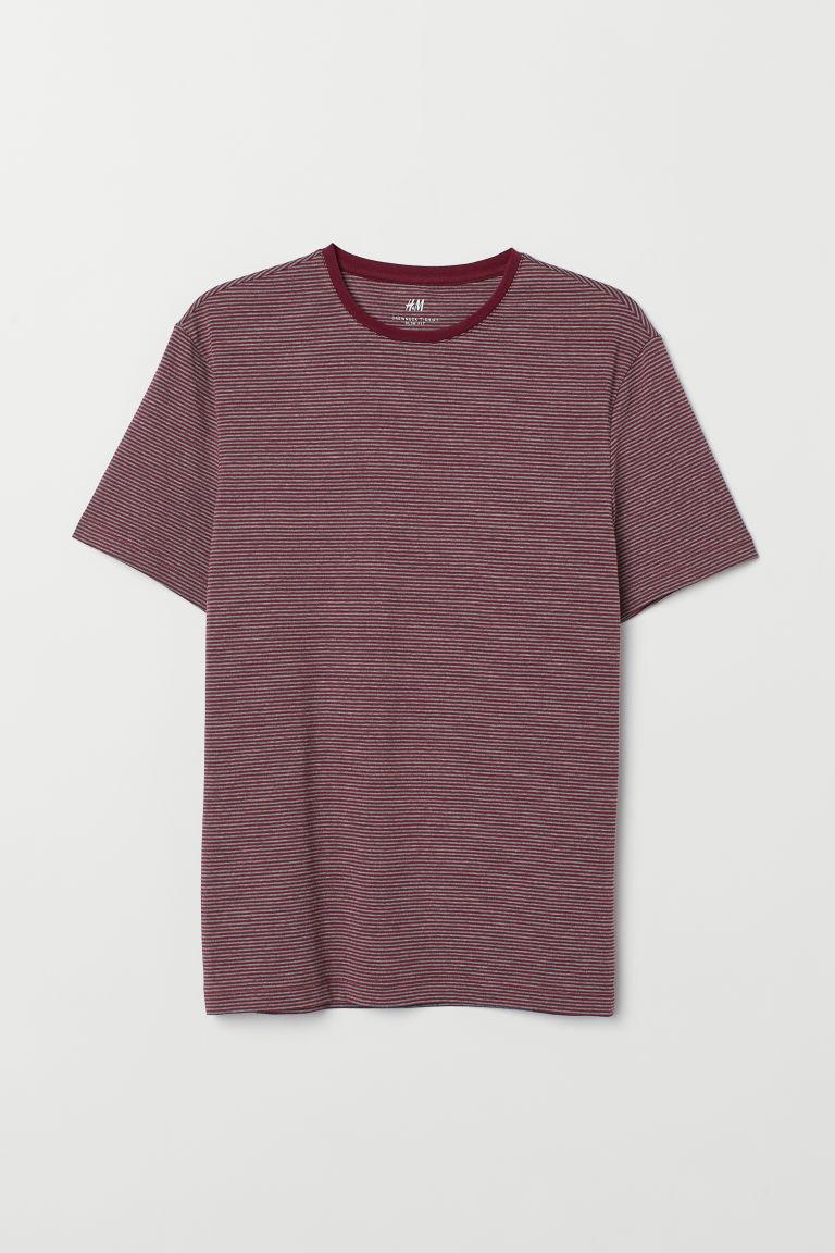 Slim Fit Round-neck T-shirt